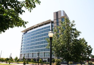 Acxiom, a data and technology company that employs a team of professional writers, has a headquarters in Little Rock. (Photo credit: Mike Keckhaver)